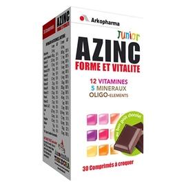 Arkopharma azinc forme et vitalité junior - chocolat - complexes vitaminés - arkopharma Azinc Forme et Vitalité Junior (Chocolat)-191828