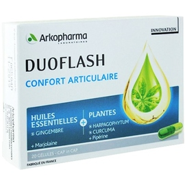 Arkopharma duoflash confort articulaire - 20 gélules - arkopharma -211126