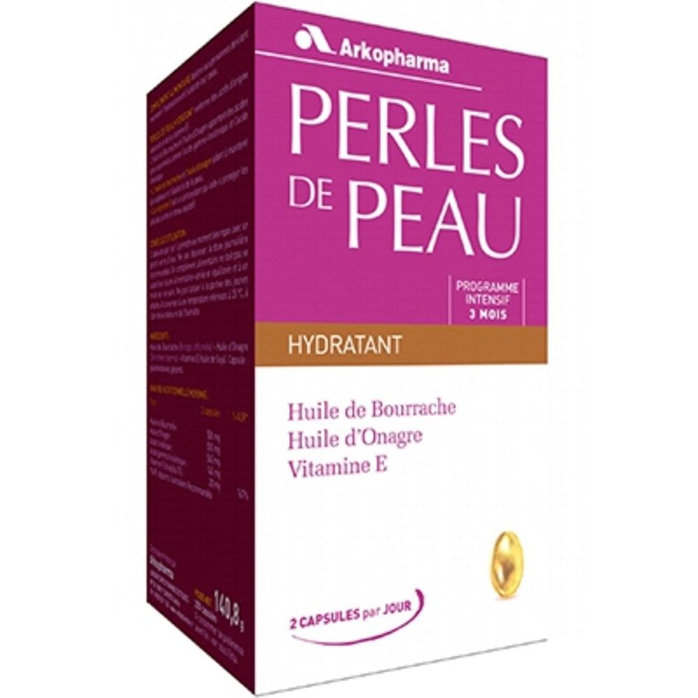 ARKOPHARMA Perles de Peau - 200 capsules - 200.0 unites - jeunesse et eclat de la peau - Arko Pharma Perles de Peau Hydratant-5493