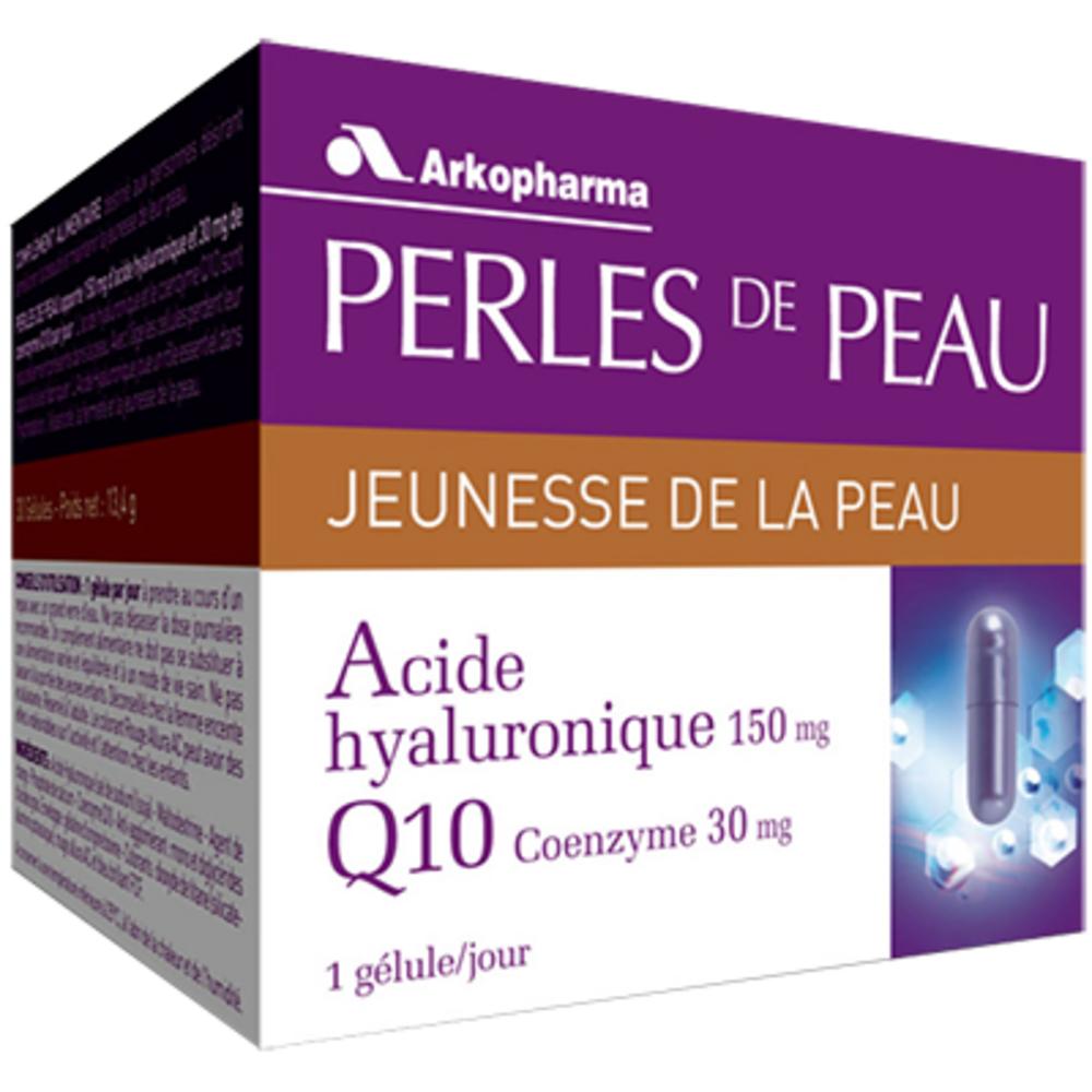 ARKOPHARMA Perles De Peau Acide Hyaluronique Coenzyme Q10 - jeunesse et eclat de la peau - Arko Pharma Perles De Peau Acide Hyaluronique Coenzyme Q10-191792
