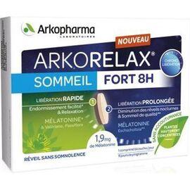 Arkorelax sommeil fort 8heures 2x15 comprimés - arkopharma -225966