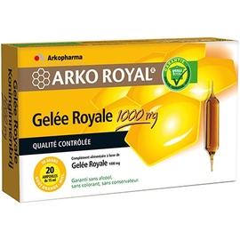 Arkoroyal gelée royale 1000 mg - 20.0 unites - gelée royale - arkopharma ARKO ROYAL® Gelée Royale 1000mg-17181