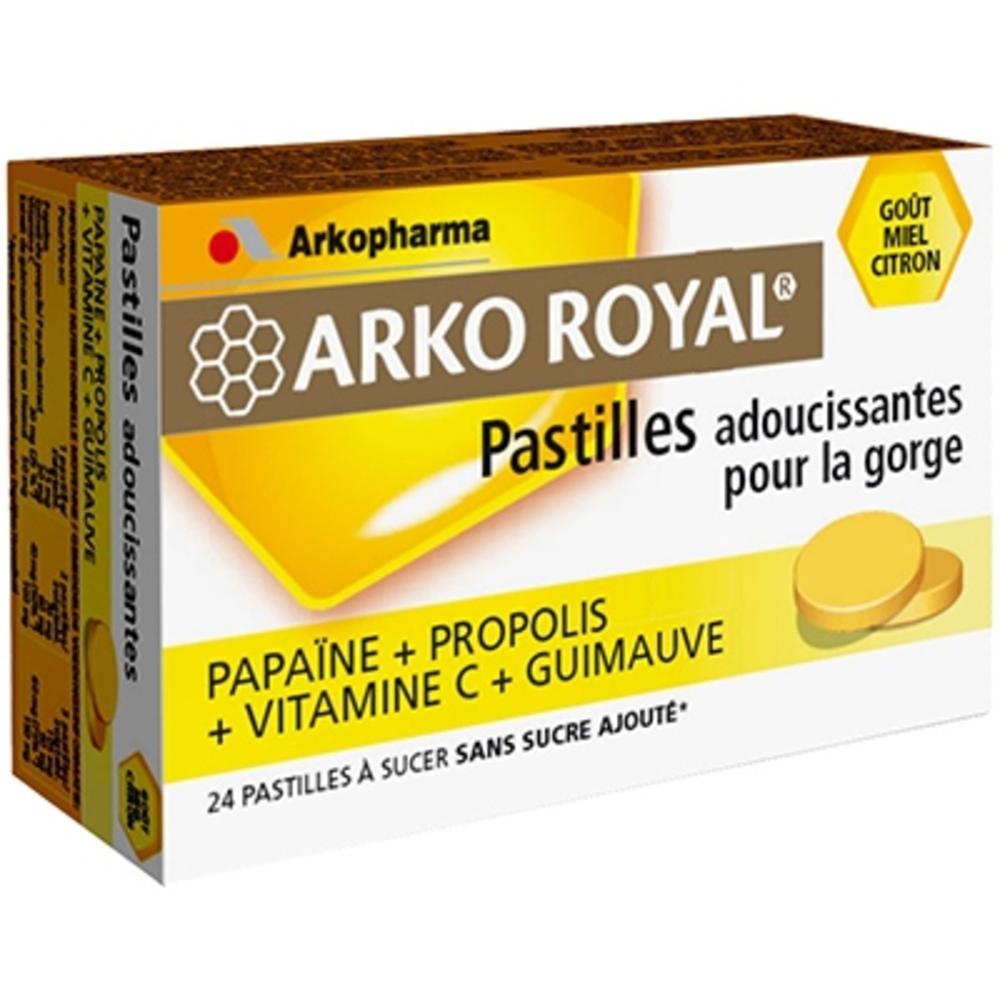 Arkoroyal pastilles propolis miel citron - gorge - arkopharma ARKO ROYAL® Pastilles Propolis goût Miel Citron-131953