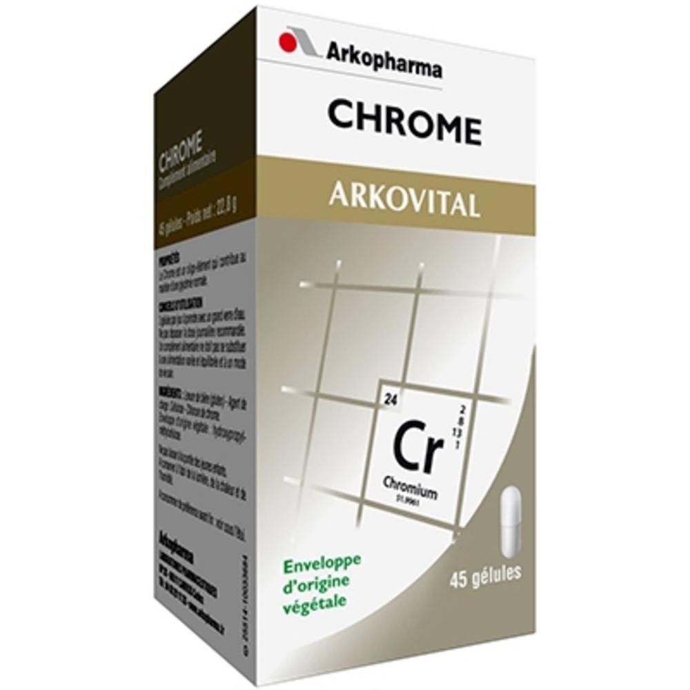 Arkovital chrome - glycémie - arkopharma Arkovital Chrome-191853