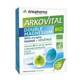 Arkovital double magnésium bio 30 comprimés - arkopharma -222683