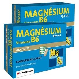 Arkovital magnésium vitamine b6 - lot de 2 - 2.0 unités - divers - arkopharma -105277