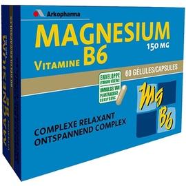 Arkovital magnésium vitamine b6 - stress surmenage - arkopharma Magnésium et Vitamine B6-148117