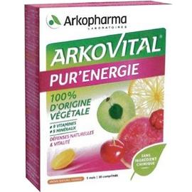 Arkovital pur'energie - 30 comprimés - arkopharma -205775