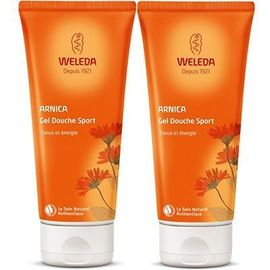 Arnica gel douche sport 2x200ml - weleda -223876
