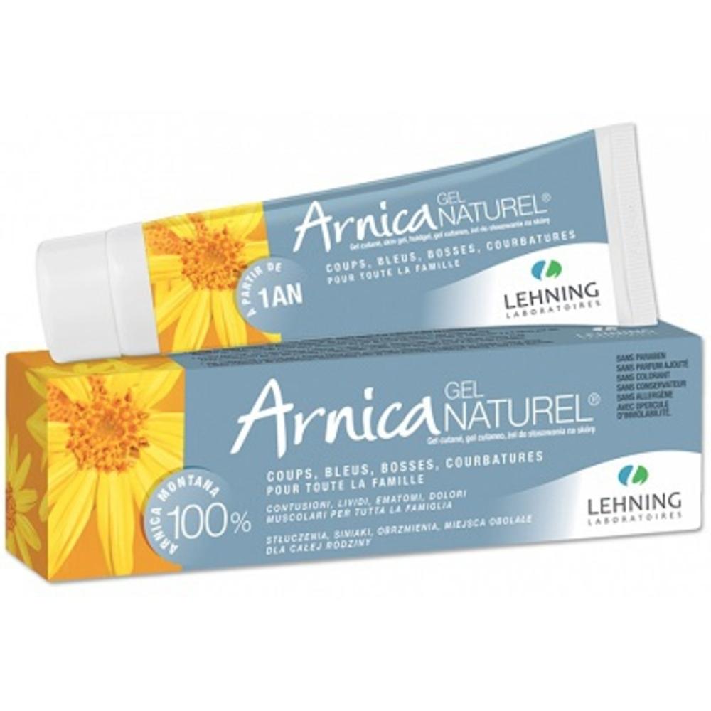Arnica gel naturel - 50.0 ml - lehning -190117
