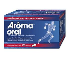 Aroma oral 180 gélules - mayoly spindler -223518