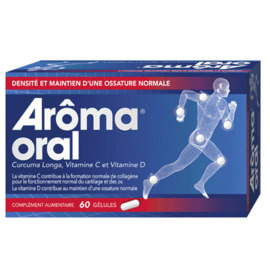 Aroma oral 60 gélules - mayoly spindler -223503