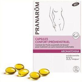 Aromafemina confort (pré)menstruel 30 capsules - pranarom -226334