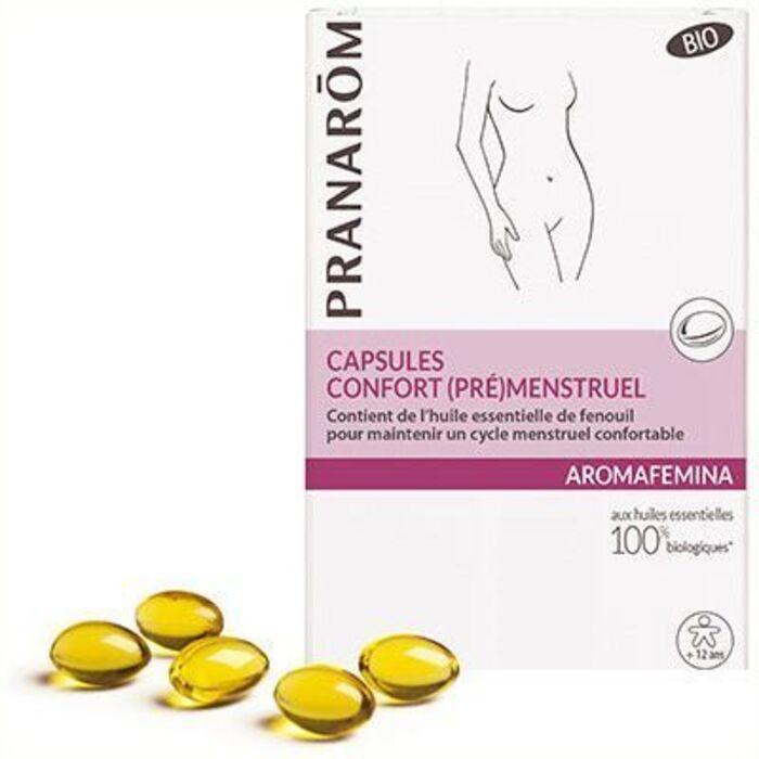 Aromafemina confort (pré)menstruel 30 capsules Pranarom-226334