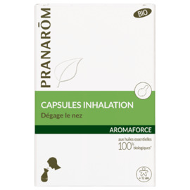 Aromaforce capsules inhalation bio x15 - pranarom -214986