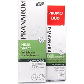 Aromaforce promo duo spray nasal 15ml + défenses naturelles 5ml - pranarom -222697