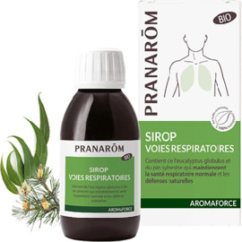 Aromaforce sirop voies respiratoires bio 150ml - pranarom -227867