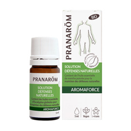 Aromaforce solution défenses naturelles bio 5ml - pranarom -227869