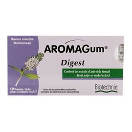Aromagum digest - 12 dragées - divers - biotechnie -134301