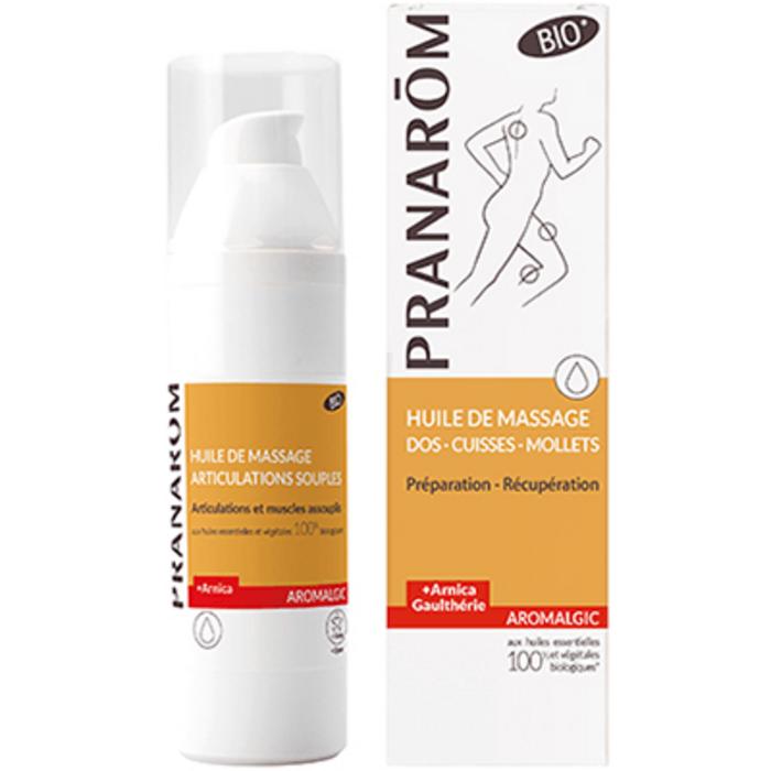 Aromalgic huile de massage bio 100ml Pranarom-225471