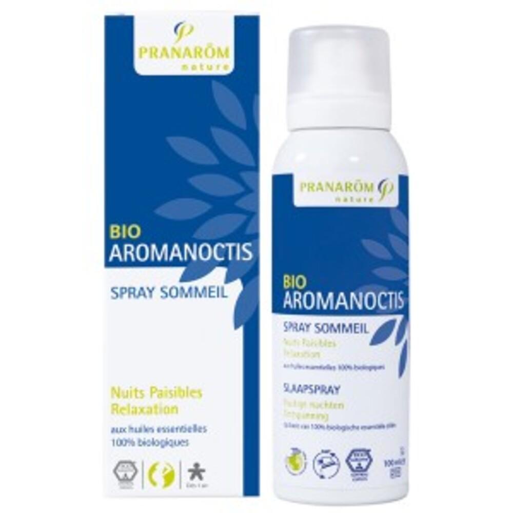 Aromanoctis, spray sommeil - détente bio - 100 ml - divers - pranarom nature -143471