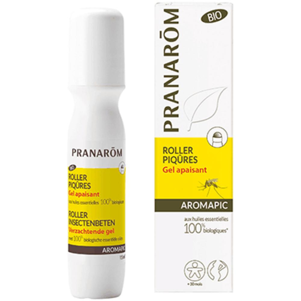 Aromapic roller piqûres gel apaisant bio 15ml - pranarom -189769