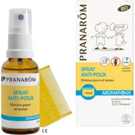 Aromapoux spray anti-poux bio 30ml - pranarom -225894