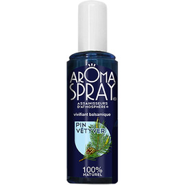Aromaspray spray fraîcheur pin vétyver - 100ml - divers - aromaspray -140642