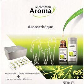 Aromathèque vide + 4 planches de stickers - le comptoir aroma -222025