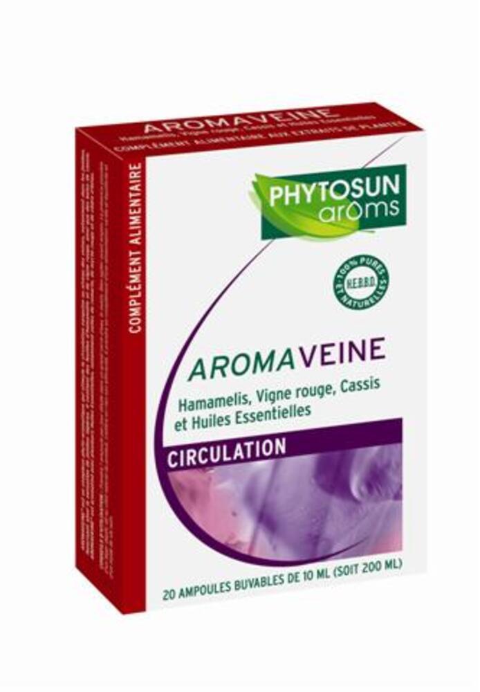 Aromaveine - 20.0 unites - gamme aroma ampoules - phytosun arôms -5211