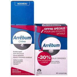 Arrêbum duo crème 40ml + boîte 60 comprimés - jaldes -226453