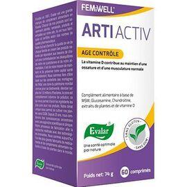 Arti activ age contrôle 60 comprimés - evalar -226073