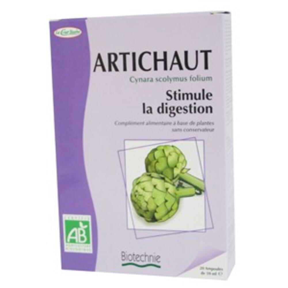 Artichaut Bio - 20 ampoules - divers - Biotechnie La Cour'tisane -136578