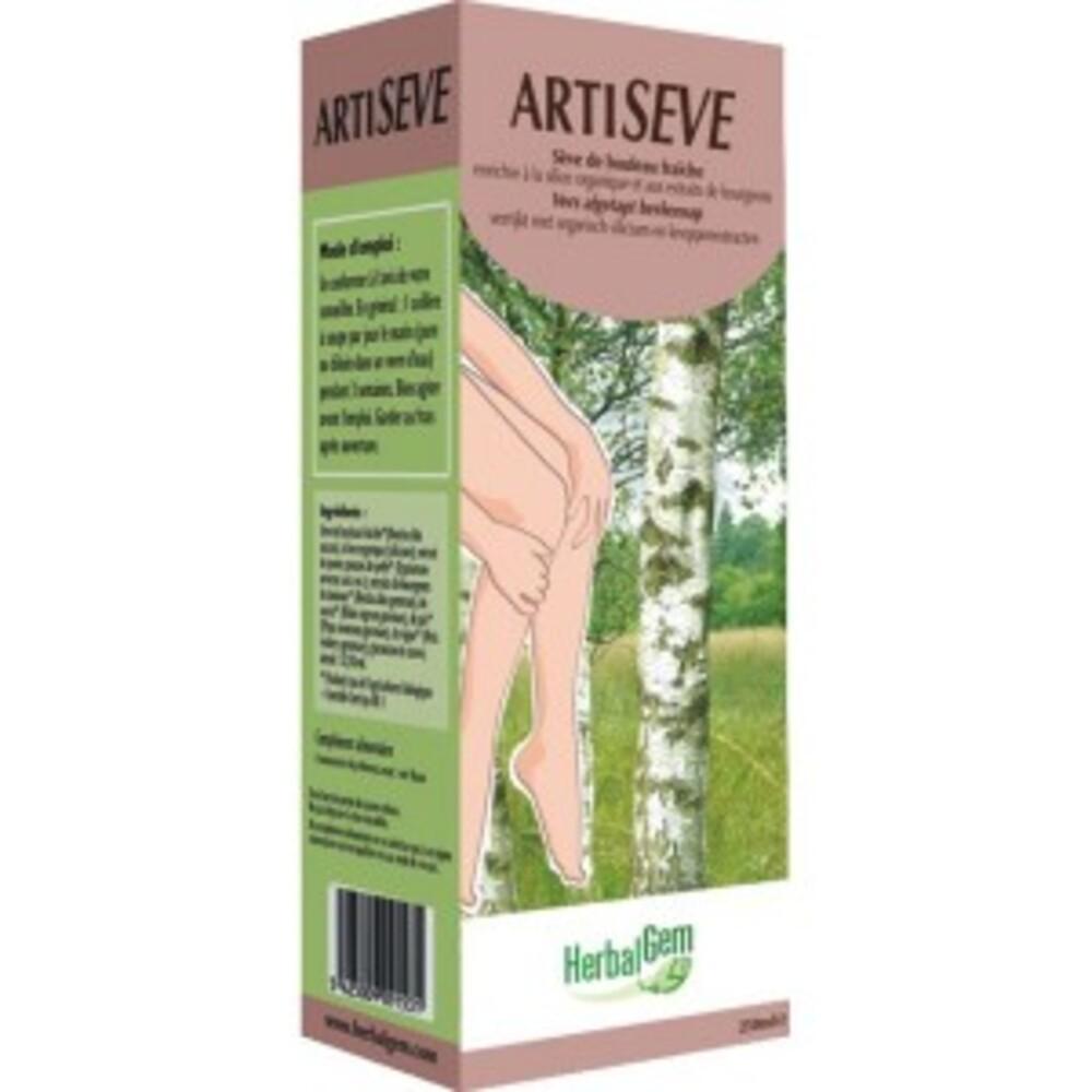 Artisève bio - 250 ml - divers - gemmobase -136155