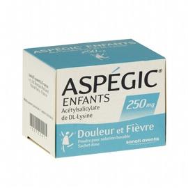 Aspegic enfants 250mg - 20 sachets - 511.0 mg - sanofi -192430