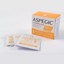Aspegic nourrissons 100mg - 20 sachets - sanofi -192275