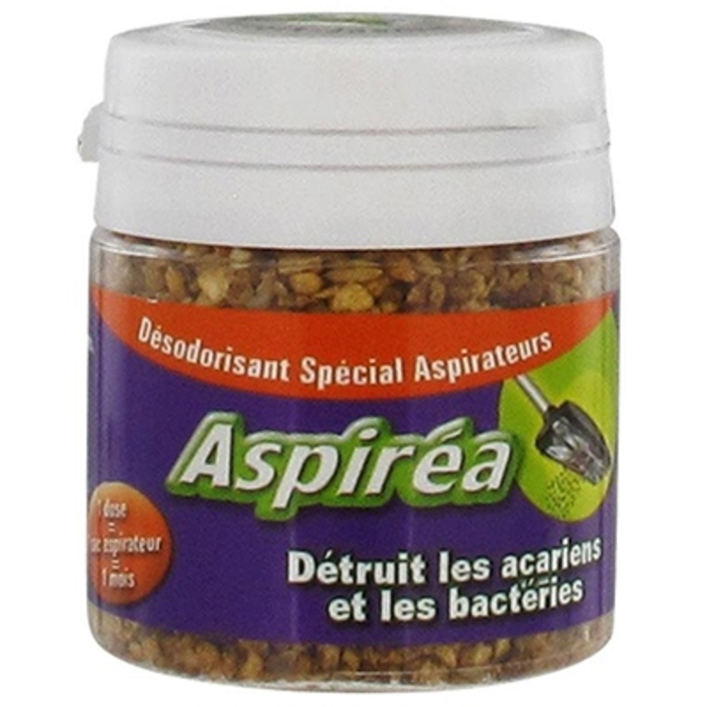 Aspirea désodorisant aspirateur thé vert jasmin - 60.0 g - désodorisant aspirateur - aspirea -5588