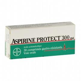 Aspirine protect 300mg - 30 comprimés - bayer -206938