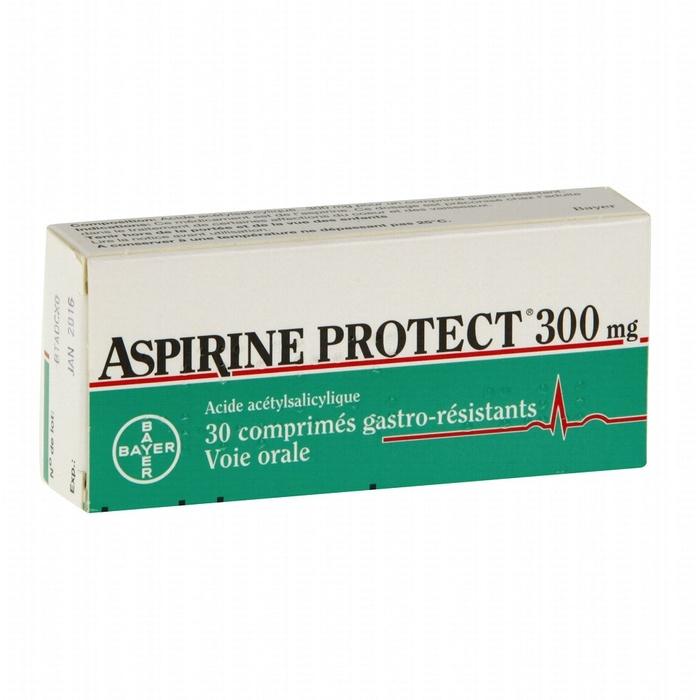 Aspirine protect 300mg - 30 comprimés Bayer-206938
