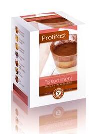 Assortiments entremets desserts x7 - protifast Préparation en poudre diététique hyperprotéinée-149906