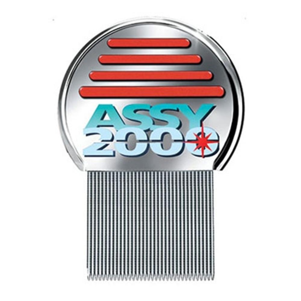 Assy peigne poux et lentes 2000 - anti poux Arrache et détruit les lentes-12211