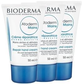 Atoderm crème mains - lot de 3 - bioderma -198607