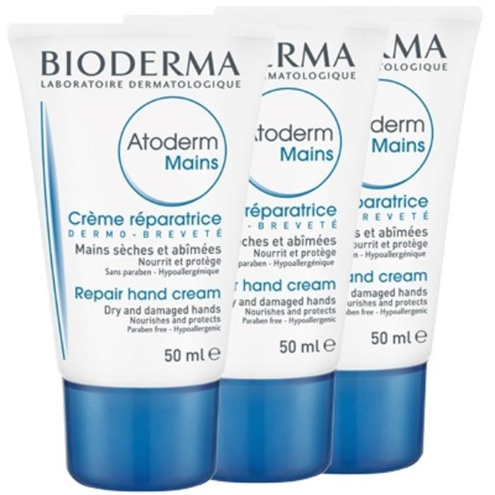 Atoderm crème mains - lot de 3 Bioderma-198607
