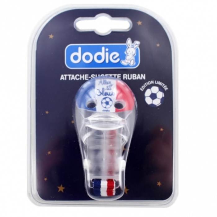 Attache-sucette ruban foot Dodie-203999