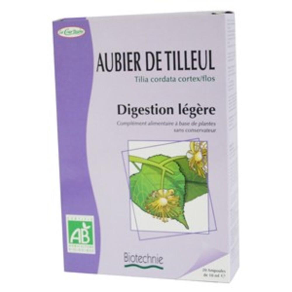 Aubier de tilleul Bio - 20 ampoules - divers - Biotechnie La Cour'tisane -136576