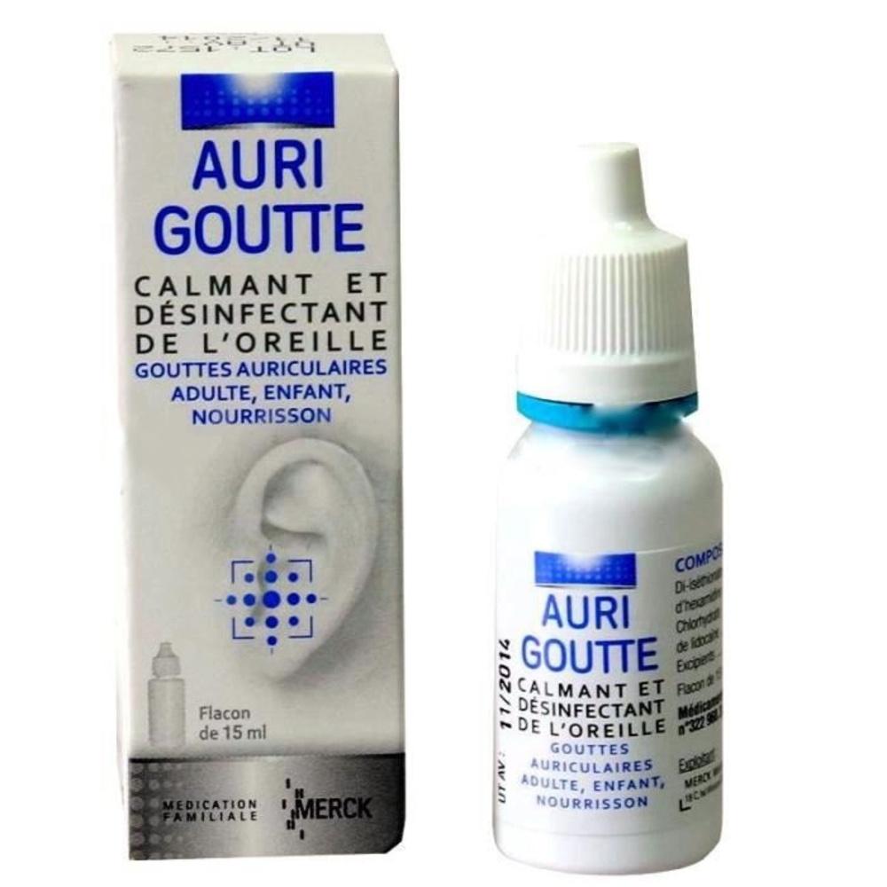 Aurigoutte gouttes auriculaires - 15.0 ml - merck -192742