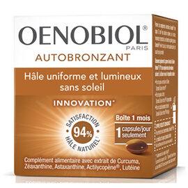 Autobronzant - 30 capsules - oenobiol -213943
