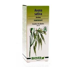 Avena sativa (avoine) bio - 50.0 ml - gouttes de plantes - teintures mères - biover Contre la nervosité et l'insomnie-8951