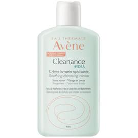 Avene cleanance hydra crème lavante apaisante 200ml - avène -223802