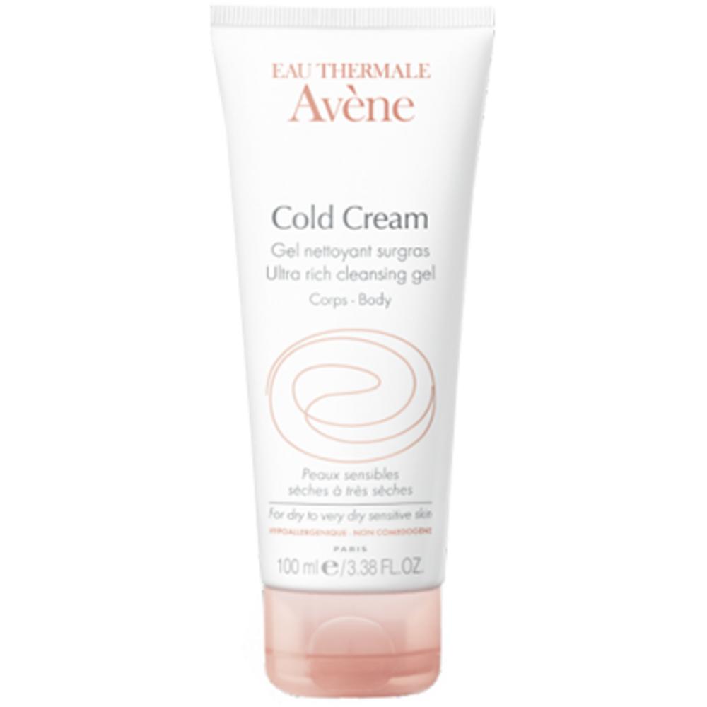 Avène Cold Cream Gel Nettoyant Surgras - 100 ml - 100.0 ML - Avène -144802